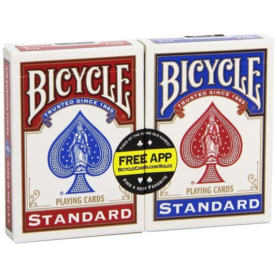 "картинка Карты ""Bicycle Rider Standard Index 2-pack"" от магазина Gamesdealer.ru"